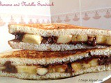 Banana and Nutella Sandwich