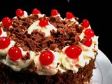 Black Forest Cake in Pressure Cooker