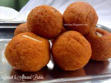 Carrot and Almond Laddu