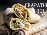 Chicken_Egg Kathi Rolls / Delicious Chapathi Rolls