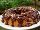 Chocolate Pudding Poke Cake
