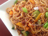 Instant Vegetable Masala Noodles