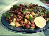 Kala Chana Chat / Black Pea Salad
