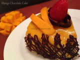 Mango Chocolate Cake