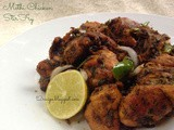 Methi Chicken Stir Fry