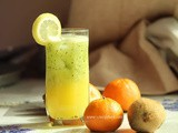 Orange and Kiwi Smoothie
