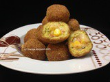 Sweet Corn Chicken Cheese Balls