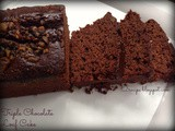 Triple chocolate Loaf Cake