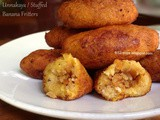 Unnakaya / Stuffed Banana Fritters