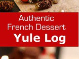 France: Chocolate Yule Log (Bûche de Noël)