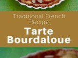 France: Tarte Bourdaloue