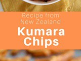 New Zealand: Kumara Chips (Sweet Potato Fries)