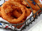 United States: Onion Rings & Ranch Dressing