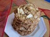 Apple Cinnamon Oatmeal Cookies ~ Day 3 of the 12 Days of Cookies
