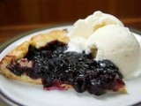 Blueberry Ginger Galette & a Birthday Celebration