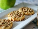 Caramel-Apple Pie Crust Cookies