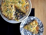Chicken, Black Bean and Tortilla Pie and a Giveaway