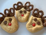 Day 276 - Day 5 of the 12 Days of Cookies - Peanut Butter Reindeer Cookies
