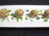 Day 296 - Cream Cheese Stuffed Mushrooms