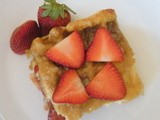 Day 361 - Baked Strawberry Waffles