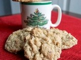Pecan Oatmeal White Chocolate Chip Cookies