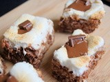 S'Mores Rice Krispie Treats - The Secret Recipe Club