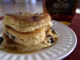 Secret Recipe Club - The Fluffiest Blueberry Lemon Pancakes
