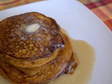 Secret Recipe Club - Whole Wheat Pumpkin Pancakes