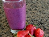 Smoothie Saturday - Blackberry Strawberry Smoothie