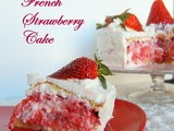 Tuesdays with Dorie: bwj - French Strawberry Cake