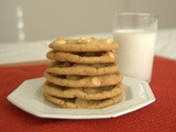 White Chocolate Choco Chip Cookies ~ The Secret Recipe Club