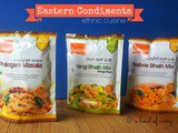 Eastern Condiments ~ ethnic cuisines | a Product Review