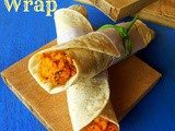 Paneer Kathi Wraps - My Guest Post For Rafee