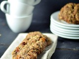 Buckwheat oatmeal raisin cookies