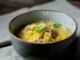 Chicken sweet-corn soup