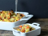 Hot and sweet cornbread stuffing