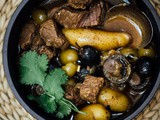 Olive and beef stew