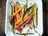 Oven-roasted carrots with fennel
