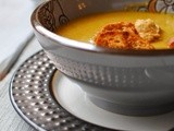 Give Thanks + Curried Pumpkin Soup