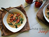 Kick-off to October Unprocessed: White Bean Soup with Kale and Sausage