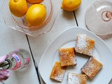 Lavender Lemon Bars {Sundays with Joy}