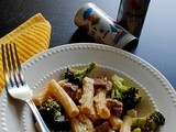 Need To Do vs. Want To Do... (Rigatoni with Broccoli and Sausage)