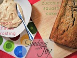 Of all the things i've lost... (Zucchini-Squash Cream Cheese Cake)