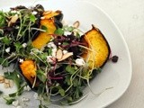 Roasted Acorn Squash Salad + Speaking Honestly