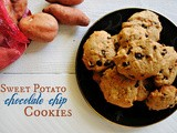 Sweet Potato Chocolate Chip Cookies (Sundays with Joy)