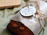 Vegan Pumpkin Walnut Bread