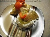 Stuffed Chicken Breast with Purée De Tomates