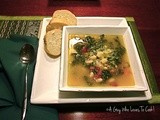 Cannellini and Escarole Soup