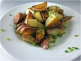 Pan Roasted Red Skin Potatoes