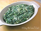 Steakhouse Creamed Spinach